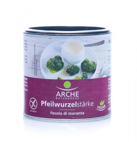 Arche Bio Pfeilwurzelstärke, 125 g
