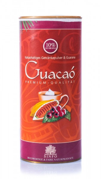 Sinfo Bio Guacaó, kakaohaltiges Getränkepulver mit Guarana, 325 g