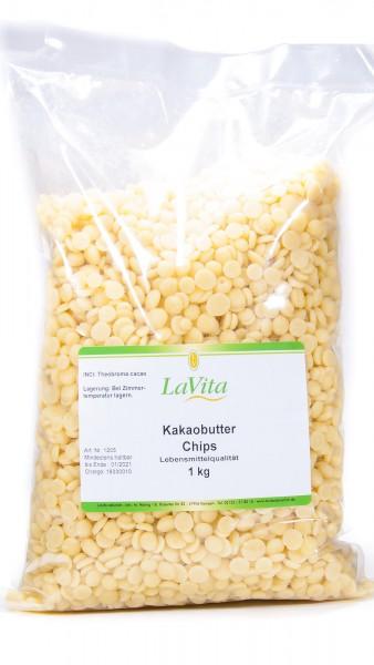 LaVita Kakaobutter Chips, 1000 g
