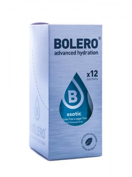 Bolero Drinks Getränkepulver Exotic, 12er Pack (12 x 9 g)