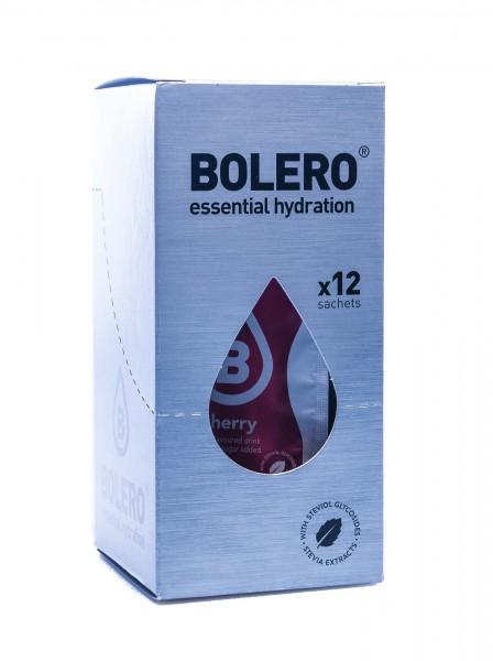 Bolero Drinks Getränkepulver Kirsche Cherry, 12er Pack (12 x 9 g)