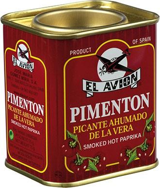 Pimentón Picante Ahumado Scharfes Paprikapulver geräuchert, 75 g