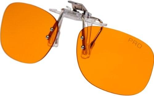 PRiSMA bluelightPROTECT Blaulichtfilter CLiP-ON PRO - Brillenaufsatz - Vorstecker für Brillenträger