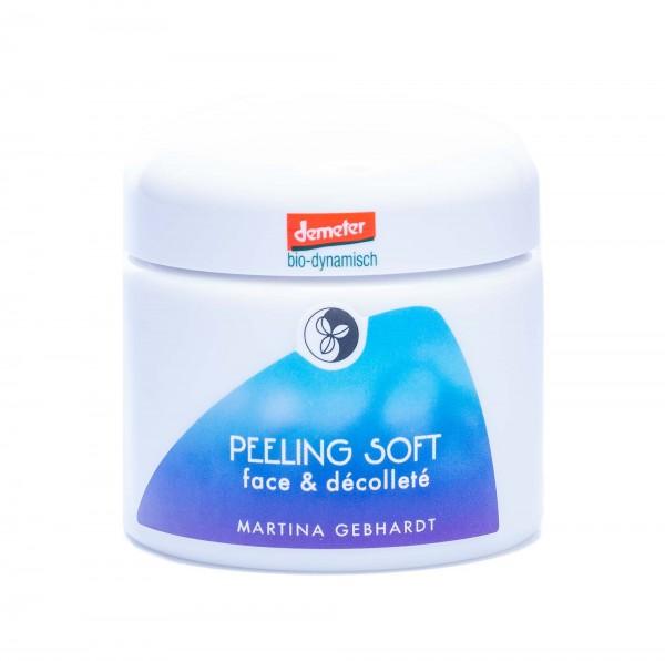 Martina Gebhardt Peeling Soft Face & Décolleté, 100 ml