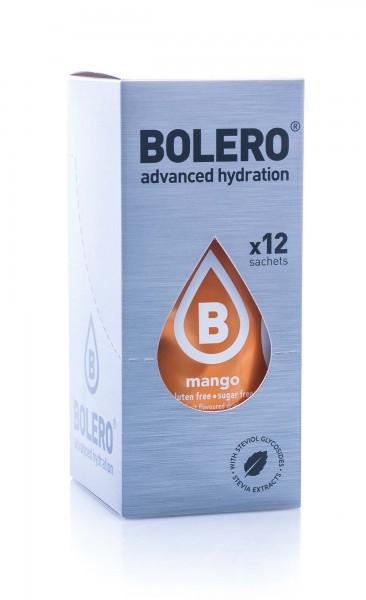 Bolero Drinks Getränkepulver Mango, 12er Pack (12 x 9 g)