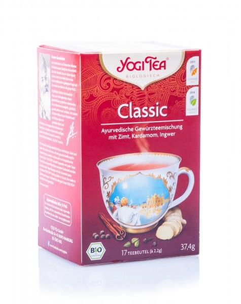 Yogi Tea Bio Classic Tee, 17 Teebeutel á 2,2 g