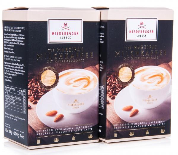 Niederegger Marzipan Milchkaffee, 2er Pack (2 x 200 g)