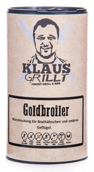 Klaus Grillt Goldbroiler Geflügelwürzer, Streuer, 120 g