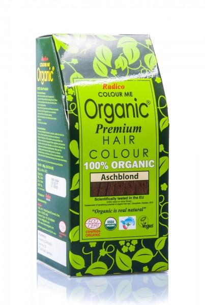 Radico Colour Me Organic Pflanzenhaarfarbe Ash Blonde aschblond, 100 g