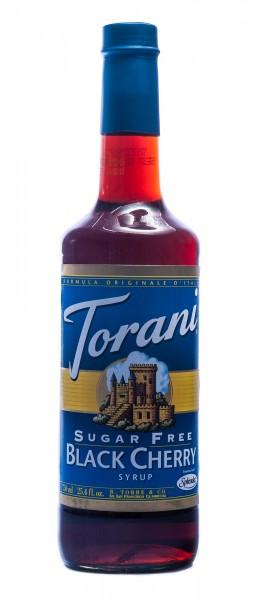Torani Sirup Black Cherry Schwarzkirsche zuckerfrei, 750 ml