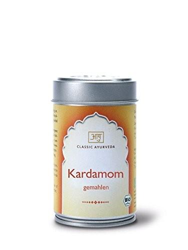 Classic Ayurveda Bio Kardamom, gemahlen, mit Schale, 50 g