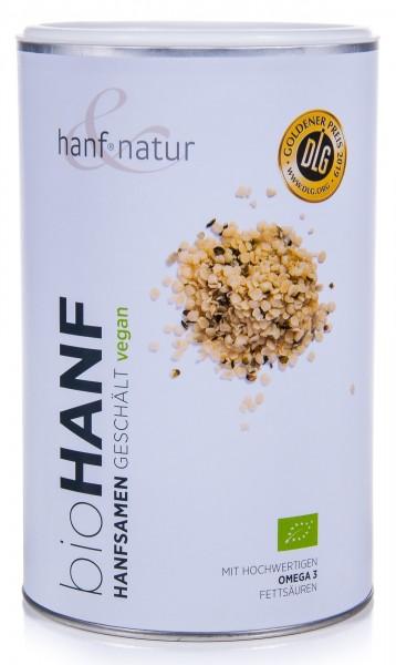 Hanf&Natur Bio Hanfsamen geschält, 500 g
