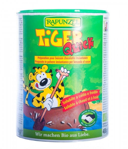 Rapunzel Bio Tiger Quick HIH Instant-Trinkschokolade, 400 g