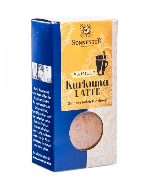Sonnentor Bio Trink-Kurkuma-Latte Vanille, 60 g