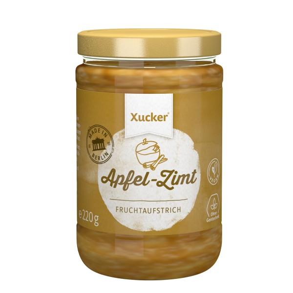 Xucker Fruchtaufstrich Apfel-Zimt, 220 g