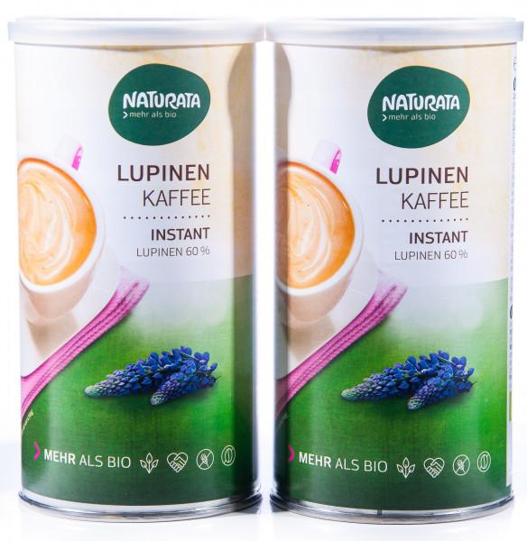 Naturata Bio Lupinenkaffee Instant, Dose, 2er Pack (2 x 100 g)
