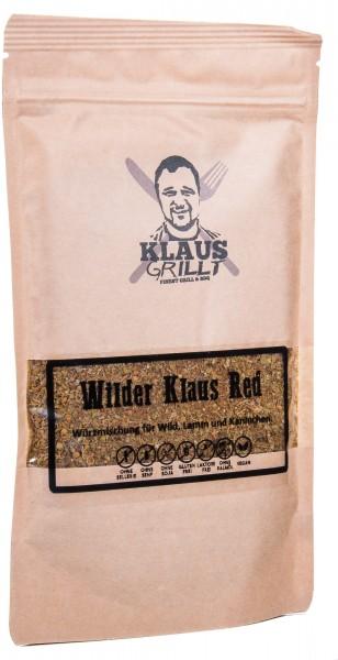 """Klaus Grillt Wilder Klaus """"Red"""" Würzmischung für Rotwild, 150 g"""