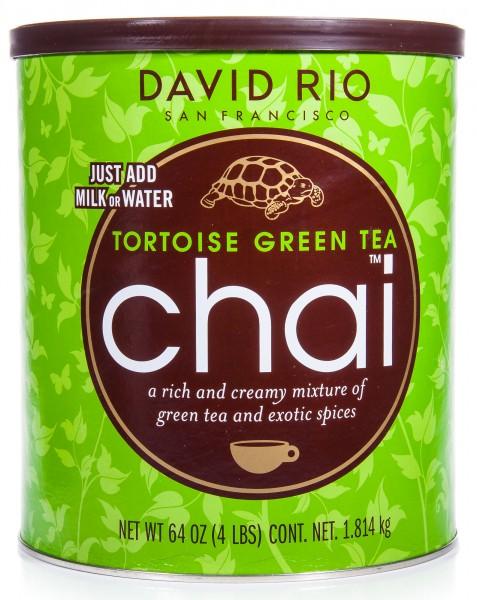 David Rio Tortoise Green Tea Chai, Pappwickeldose, 1814 g