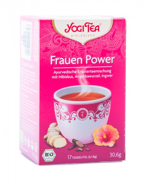 Yogi Tea Bio Frauen Power, 17 Teebeutel á 1,8 g