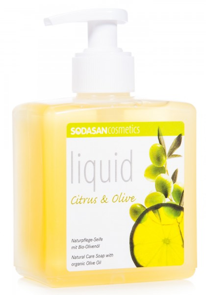 Sodasan Citrus-Olive Seife liquid, 300 ml