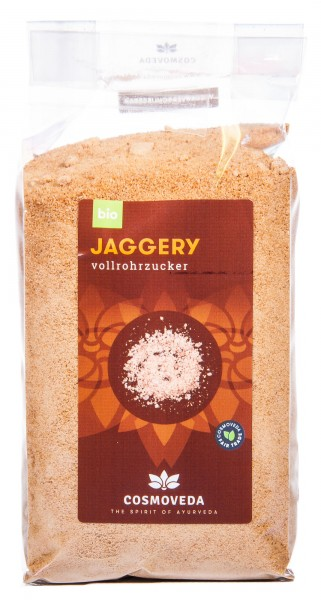 Cosmoveda Bio Jaggery Vollrohrzucker, 400 g