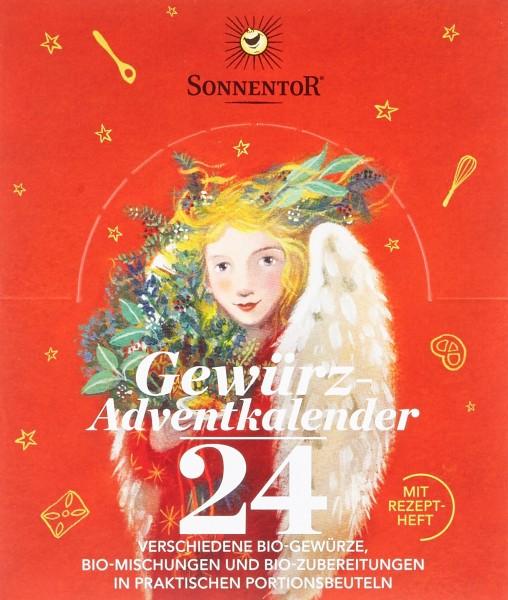 Sonnentor Bio Gewürz-Adventkalender (24 Beutel), 116 g