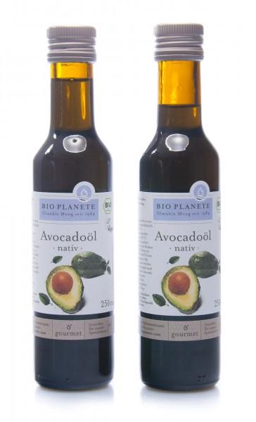 Bio Planete Bio Avocadoöl nativ, 2er Pack (2 x 250 ml)