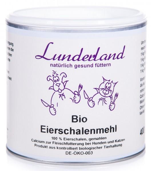 Lunderland Bio Eierschalenmehl, 400 g