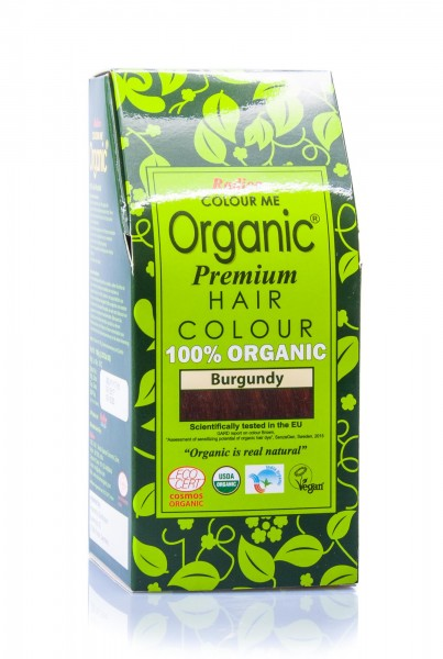 Radico Colour Me Organic Pflanzenhaarfarbe Burgundy burgund, 100 g
