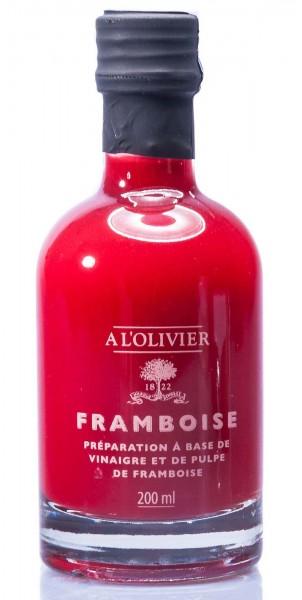 A L'Olivier Fruchtessig mit Himbeer-Fruchtfleisch, 200 ml