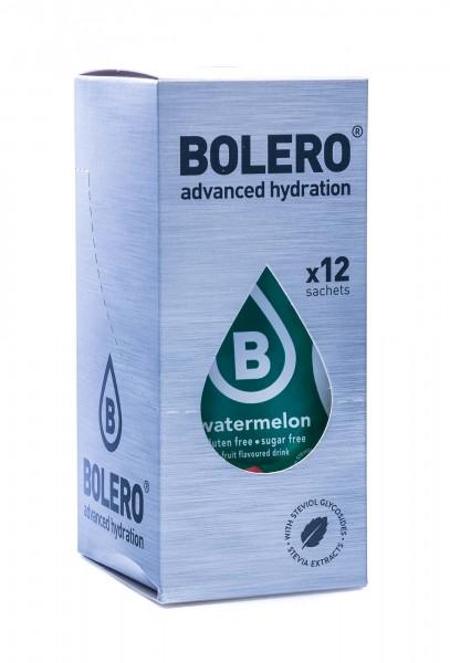 Bolero Drinks Getränkepulver Wassermelone Watermelon, 12er Pack (12 x 9 g)