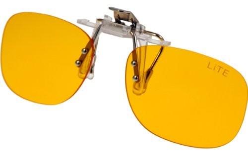 PRiSMA bluelightPROTECT Blaulichtfilter CLiP-ON LiTE - Brillenaufsatz - Vorstecker für Brillenträger