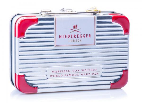 Niederegger Reisekoffer gefüllt mit Marzipan Klassikern, 200 g
