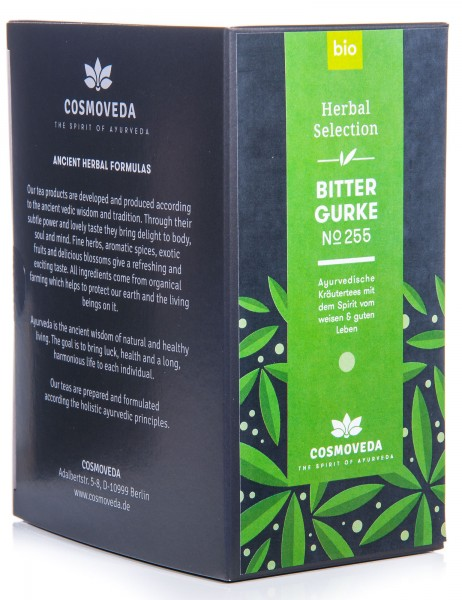 Cosmoveda Bio Bittergurke Tee, 25 Teebeutel, 45 g