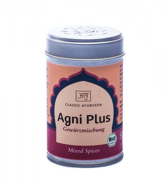 Classic Ayurveda Bio Agni Plus Gewürzmischung, 50 g
