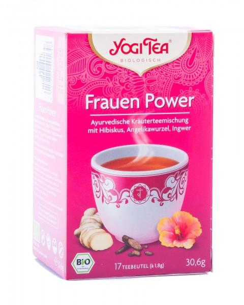 Yogi Tea Bio Frauen Power, 17 Teebeutel á 1,8 g