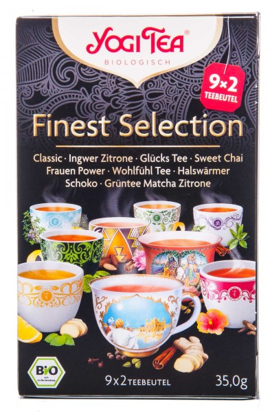 Yogi Tea Bio Finest Selection, 18 Teebeutel, 35 g