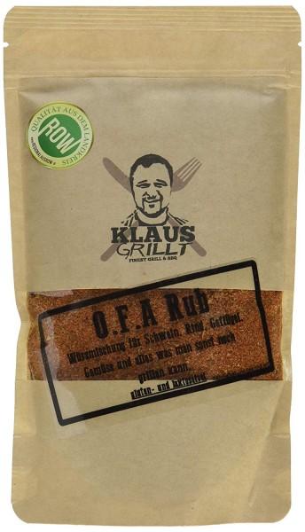 Klaus Grillt O.F.A Rub, 250 g